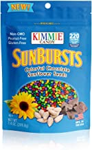 Kimmie Candy Sunbursts Colorful Chocolate Covered Sunflower Seeds, 7.4 Ounce