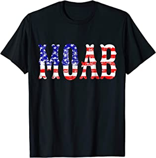MOAB GBU-43/B T-Shirt Vintage USA Flag Mother of All Bombs