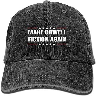 HRowling Make Orwell Fiction Again Cowboy hat Adjustable Men's Baseball Cap