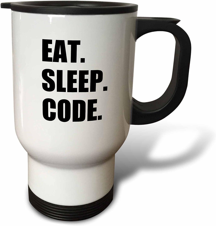 3dRose Eat Sleep Code Computer Coder Programmer Love To Program