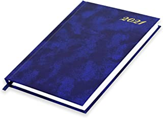 FIS A5 Diary 2021 English (Friday & Saturday Combined) Blue - FSDI91E21BL