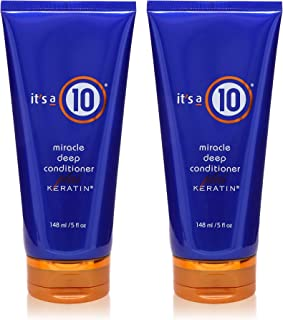 It's a 10 Haircare Miracle Deep Conditioner plus Keratin, 5 fl. oz. (Pack of 2)