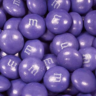 Purple Candy M&Ms 2lb - Milk Chocolate Purple Candy for Candy Buffet