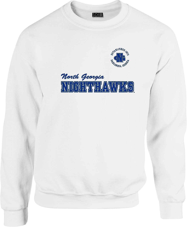 Crewneck Sweatshirt SDI NCAA 50//50 Blended 8 Oz