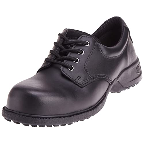 0aebc43e97cd Shoes For Crews Unisex Commander Leather Shoes 5257 Size 4 Men s 5.5  Women s Black