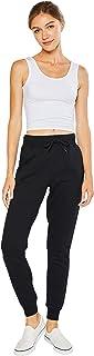 esstive Women's Ultra Soft Fleece Midweight Casual Relaxed Fit Jogger Pants
