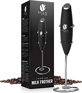 Bean Envy Milk Frother Handheld - Perfect For The Best Latte - Whip Foamer - Includes