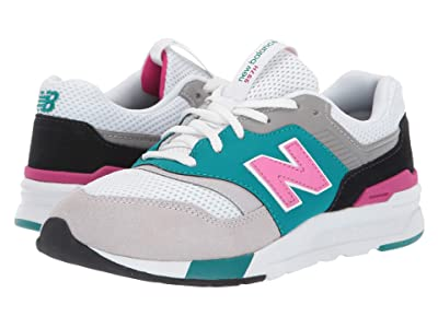 New Balance Kids 997H (Big Kid) (Amazonite/Carnival) Kids Shoes