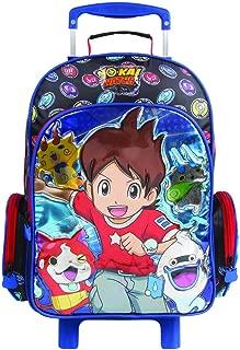 Mochila Escolar G com Rodinhas Yo-kai Watch, 11262, DMW Bags