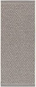 freundin Home Collection In- & Outdoor Teppich Sea Grau Taupe, 70x140 cm