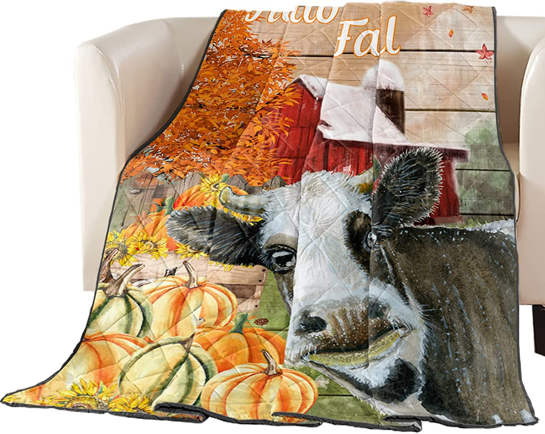 Down Alternative Free shipping San Diego Mall Comforter Thanksgiving Day Barn Red Cow Farm Pu