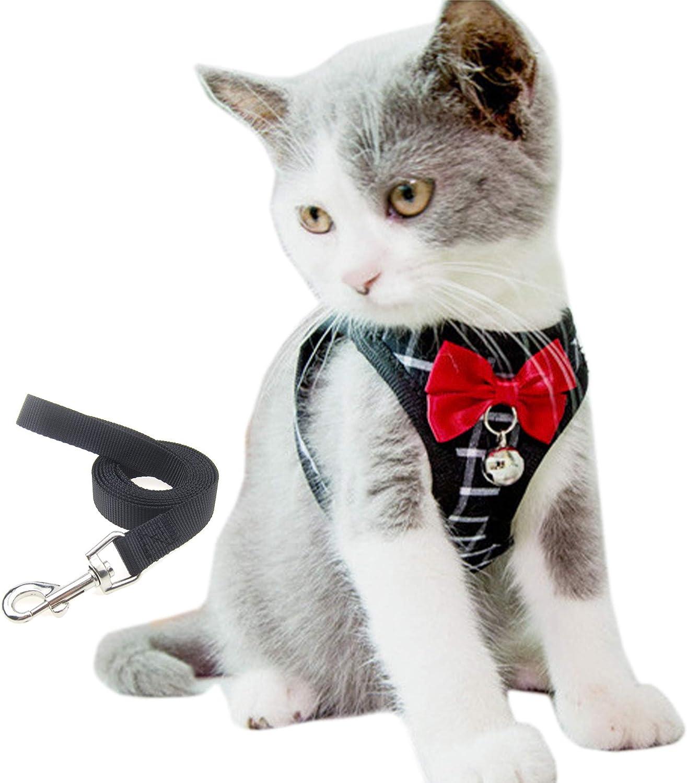 Alfie Arlington Mall Pet - Bernard Max 67% OFF Step-in Harness for and Leash Cat Set
