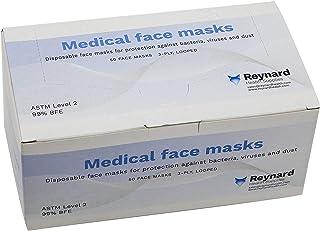 [50pcs] Medical 3-Ply Surgical Face Masks - ASTM Level 2 - AUST L 345357