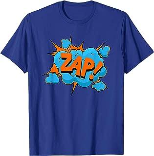 Superhero Rare Power Zap Pow Bam T Shirt