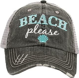 Beach Please Women's Trucker Hat