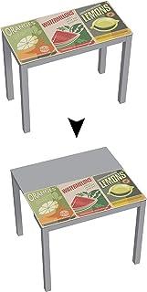 comprar comparacion Mesa de cocina Suarez Serra hecho de acero, 1 unidad, color plata, dimensiones 45 x 90 x 75,6 cm (H225-OWL)