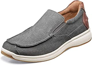 Florsheim Great Lakes Canvas Moc Toe Slip-On