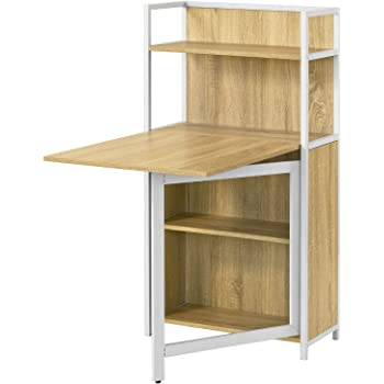 Sobuy Fwt12 N Table Pliante Armoire Avec Table Pliable Integree Table D Ordinateur Table De Cuisine Table De Rapas Bibliotheque Bureau Amazon Fr Cuisine Maison