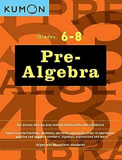 Pre Algebra (Kumon Math Workbooks)
