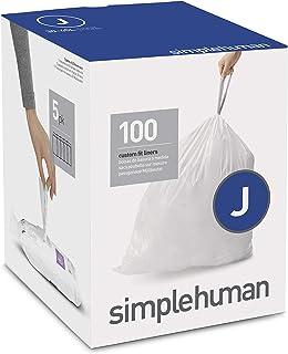 simplehuman(シンプルヒューマン) コードC カスタムフィット 引き紐付きゴミ袋