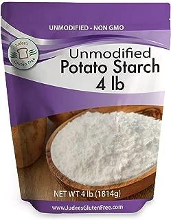 Judee's Unmodified Potato Starch (4 lbs) Non-GMO & Gluten Free