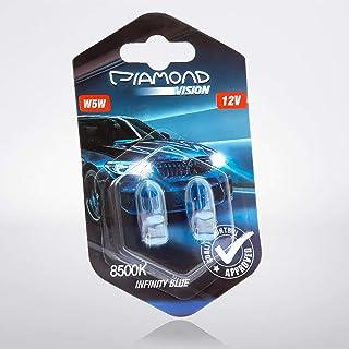 W5W Standlicht Xenon Look Optik Weiß Blau Birnen Lampen T10 Glassockel Parklicht Blue Vision Kennzeichenbeleuchtung White Vision Glühlampen Glühbirnen
