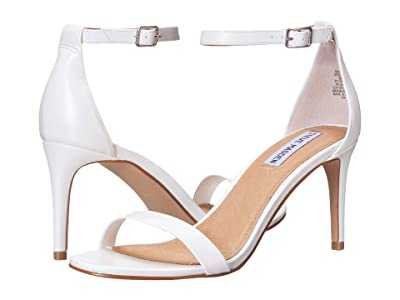 Steve Madden Exclusive Stecia Heeled Sandal (White) Women