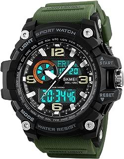 Mens Analog Digital LED 50M Waterproof Outdoor Sport...