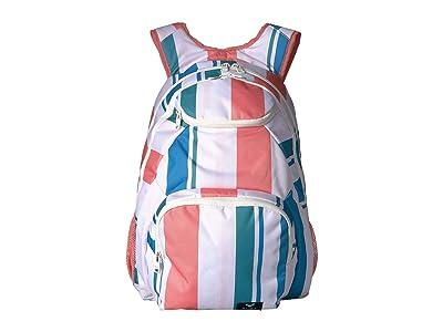Roxy Shadow Swell Backpack (Marshmallow Fresh Stripe) Backpack Bags