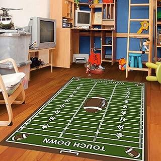 "Furnish my Place 700 Corner Football 3'3"" X5' Area Rugs"