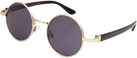 63609f87d3d JOHN LENNON 1960 Style Vintage Small Round Metal Frame Sunglasses SILVER
