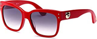 610866f4faa2 Moschino MOS008/S Sunglasses Red w/Dark Grey Gradient Lens 56mm C9A9O MOS  008S