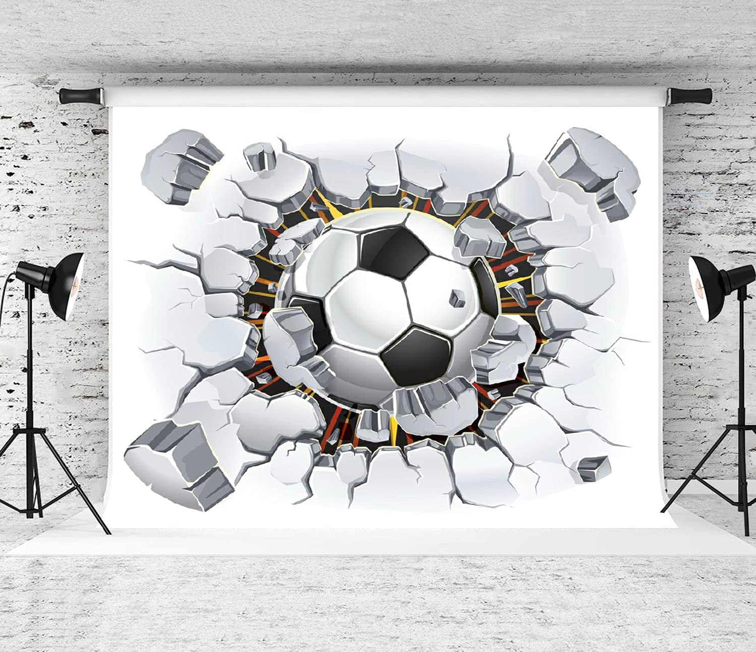 ZOANEN Nippon regular agency Photography Same day shipping Background American Decorat 3D Party Football