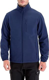 TRAILSIDE SUPPLY CO. Men's Windproof Softshell Zip-Front Fleece-Lined Jacket