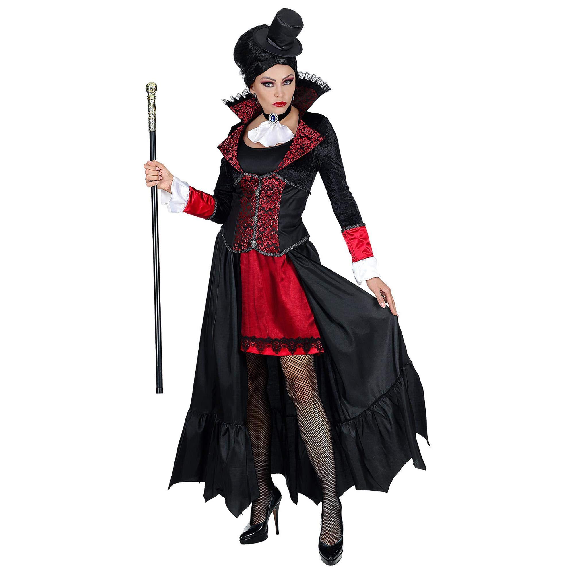 WIDMANN Disfraz de Vampiresa Lunia para Mujer S: Amazon.es ...