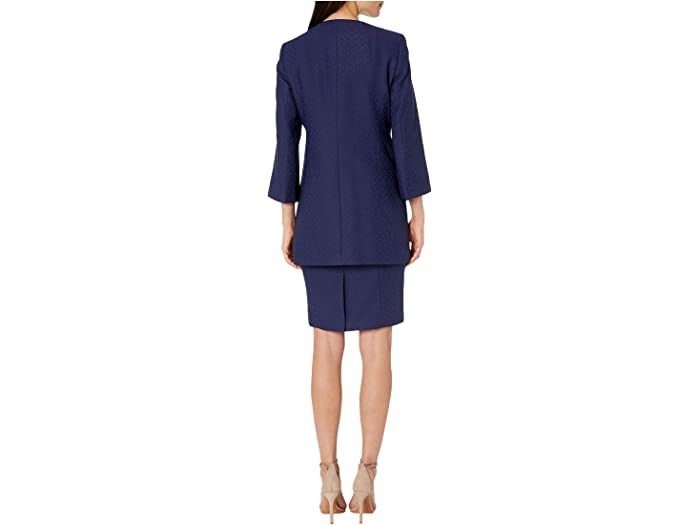 Le Suit Jacket/dress Set Bright Navy