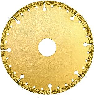 ASNOMY Disco Diamantato 115 x 22,2 mm Standard Universale per per metallo duro, tubo in acciaio, tondo per cemento armato ...