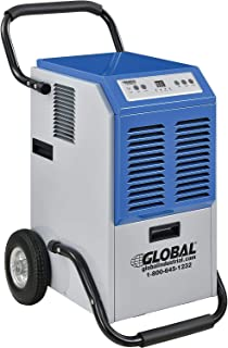 Portable Heavy Duty Commercial Dehumidifier, 110 Pints Per Day, Lot of 1