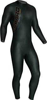 Camaro Men's Blacktip Skin Overall Wetsuits, Black, Large/52