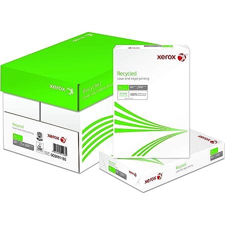 Xerox Recycled - Papier recyclé Blanc ISO 70 - 80 g/m² A4 - Carton de 5 x 500 feuilles