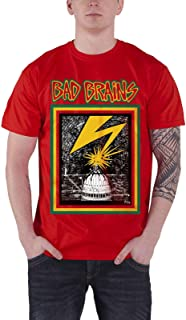 Bad Brains T Shirt Capitol Band Logo Punk 新しい 公式 メンズ