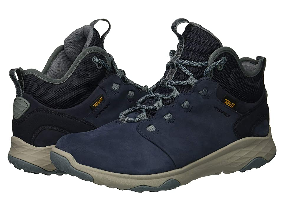 Teva Arrowood 2 Mid WP (Midnight Navy) Women's Shoes, Blue