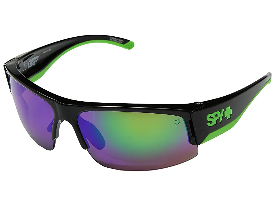 Spy Optic Flyer (Green/Happy Bronze w/ Green Spectra) Fashion Sunglasses