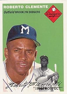 Baseball MLB 1994 Topps Archives 1954#251 Roberto Clemente #251 NM+ Dodgers