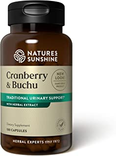 Sponsored Ad - Nature's Sunshine Cranberry & Buchu Concentrate, 100 Capsules | Herbal Supplement Helps Support a Healthy U...