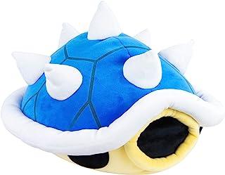 Nintendo Mario Kart Mocchi Mocchi pluche speelgoed Stachi pantser kussen - 40 cm groot - blauw