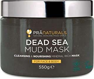 PraNaturals 550g Mascarilla Facial y Corporal 100% Natural y