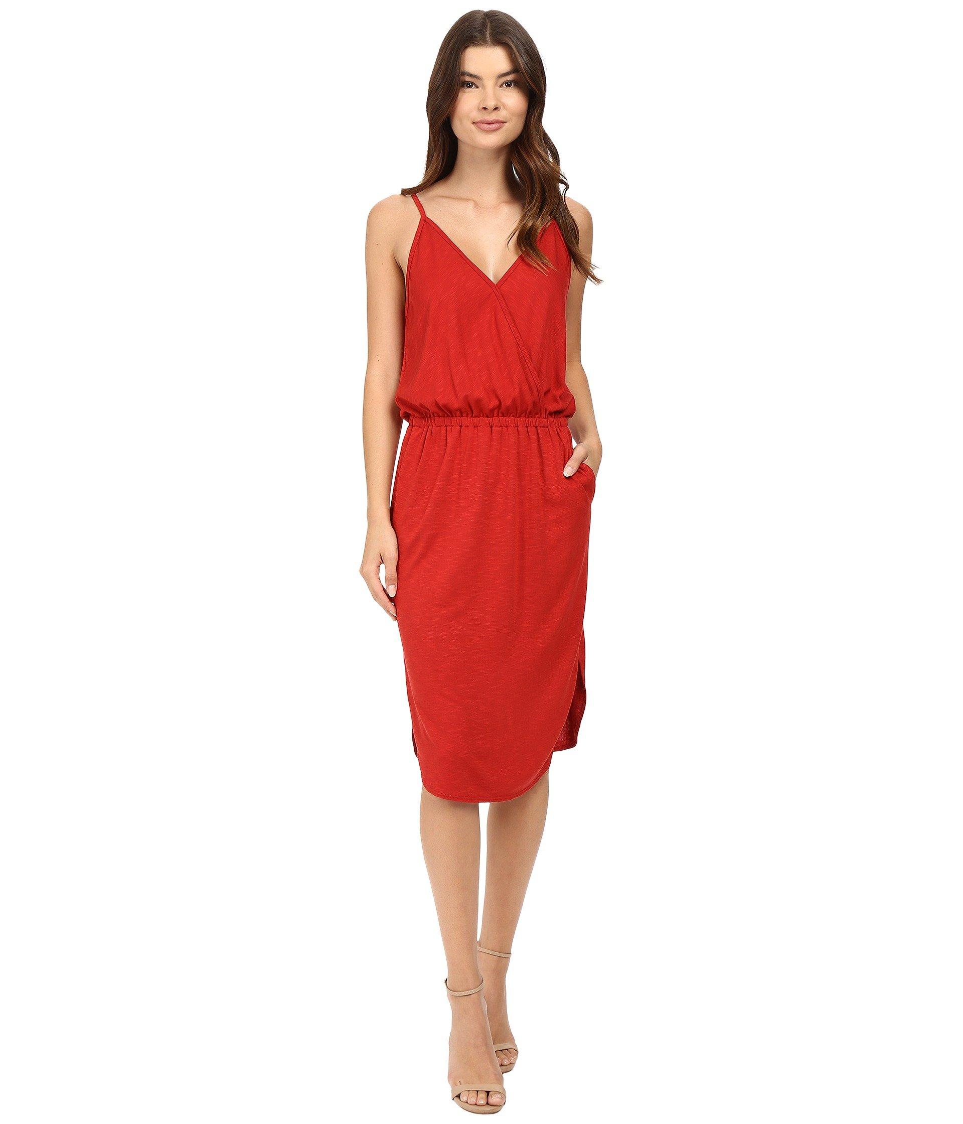 Lanston Surplice Cami Dress