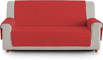 Dekoria Beddinge Sofabezug kurz Sofahusse passend f/ür IKEA Modell Beddinge rot
