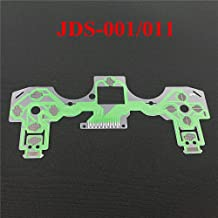Replacement Buttons Ribbon Circuit Board for PS4 Dualshock 4 Pro Slim Controller Conductive Film Keypad Flex Cable PCB (JDS-001 011)